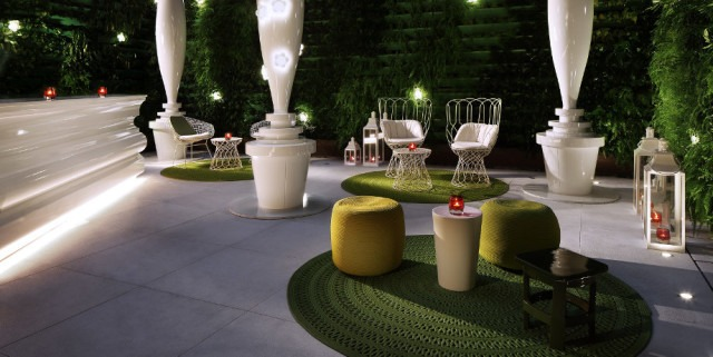 Mira Moon's Secret Garden bar offers a respite from Hong Kong's frenetic energy (Courtesy of Mira Moon)