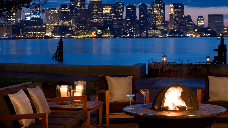 The airport/harbor location is what sets the Hyatt Boston Harbor apart. (Courtesy of Hyatt)
